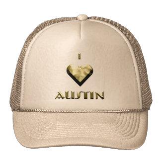 Austin -- Oro brillante Gorros