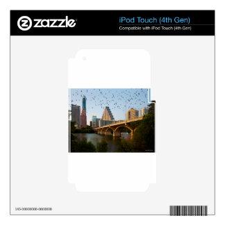 Austin, palos del puente del congreso de Tejas iPod Touch 4G Skins