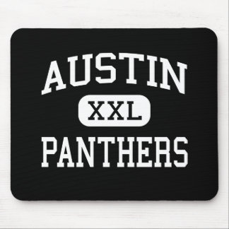 Austin - Panthers - High School - El Paso Texas Mouse Pad