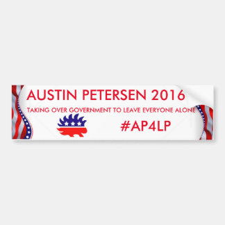 AUSTIN PETERSEN 2016 BUMPER STICKER