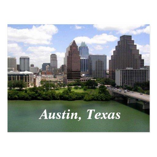 Austin, postal de Tejas
