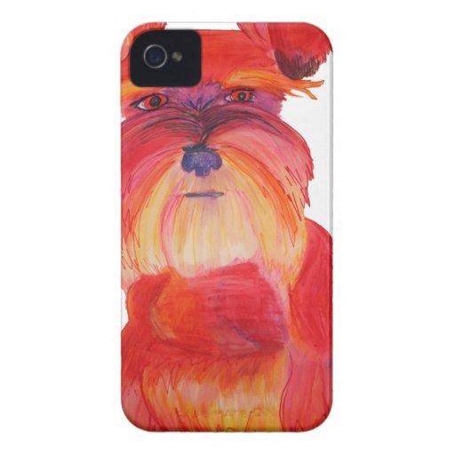 Austin rojo iPhone 4 Case-Mate cobertura