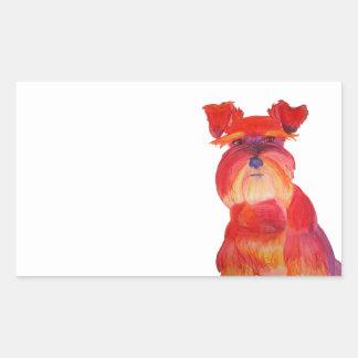 Austin rojo rectangular altavoz