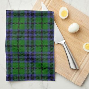 Austin Scottish Tartan Plaid Hand Towel