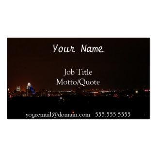 Austin skyline business card