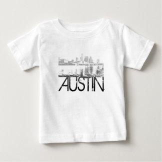 Austin Skyline Design Tee Shirt
