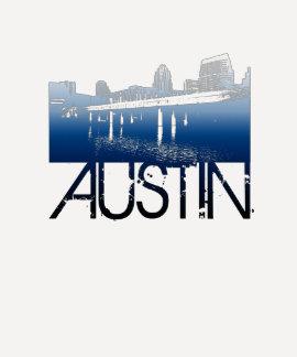 Austin Skyline Design Tshirt