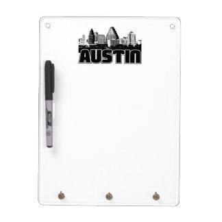 Austin Skyline Dry Erase Board