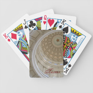 Austin State Capitol Rotunda Bicycle Playing Cards