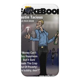 Austin Tacious- myFarcebook.com Billionaire Snob iPhone 4 Case