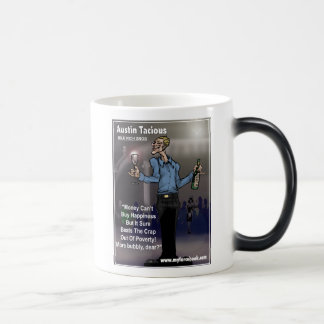 Austin Tacious- myFarcebook.com Billionaire Snob Magic Mug