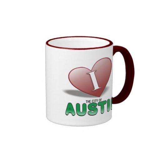 Austin Taza De Dos Colores