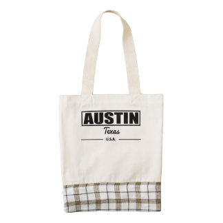 Austin Tejas Bolsa Tote Zazzle HEART
