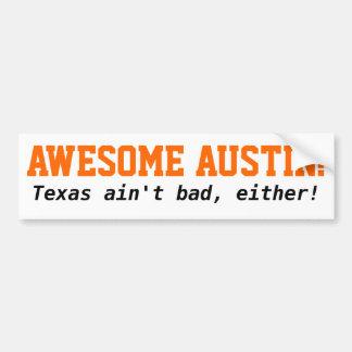 ¡Austin, Tejas! Pegatina Para Coche