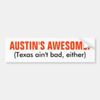 Austin, Tejas Pegatina Para Coche