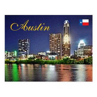Austin, Tejas, los E.E.U.U. Tarjeta Postal