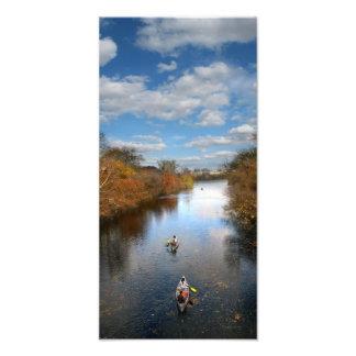 Austin Tejas - paisaje de las canoas de la cala de Cojinete