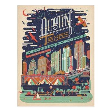 AndersonDesignGroup Austin, Texas - AKA: Bat City Postcard