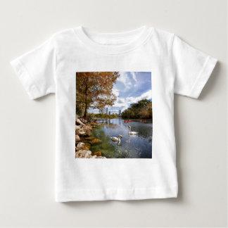 Austin, Texas Barton Creek / Ladybird Lake Swans T-shirt