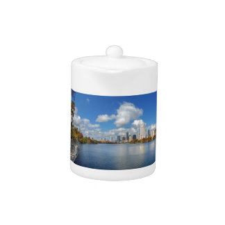 Austin Texas Boardwalk - Ladybird Lake - Skyline Teapot