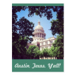 Austin Texas Capitol Building Postcard