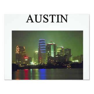 AUSTIN texas Card