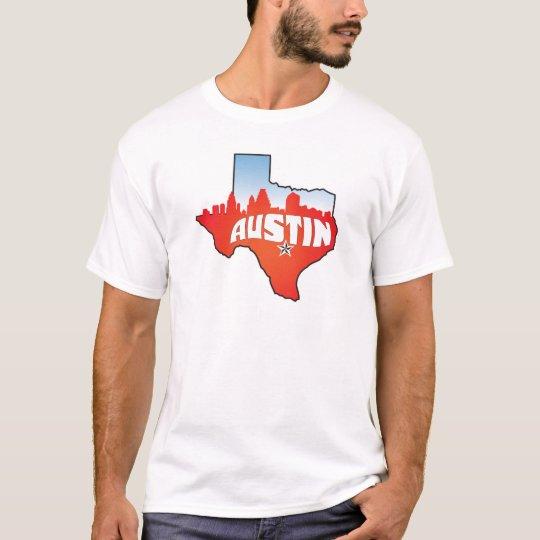 Austin Texas Cityscape T-Shirt