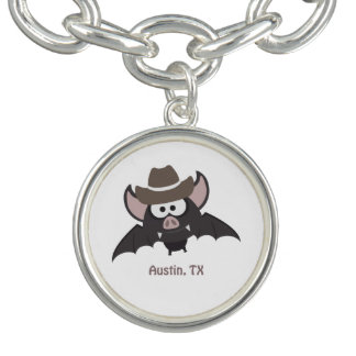 Austin, Texas - Cowboy bat Bracelets