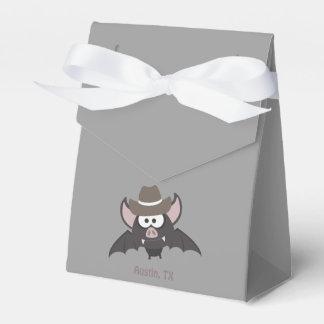 Austin, Texas - Cowboy bat Party Favor Boxes