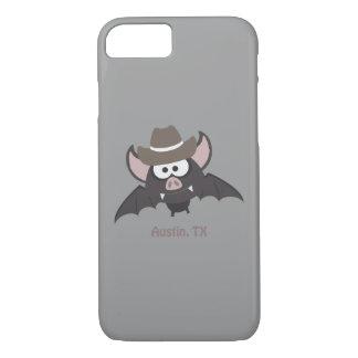 Austin, Texas - Cowboy bat iPhone 7 Case