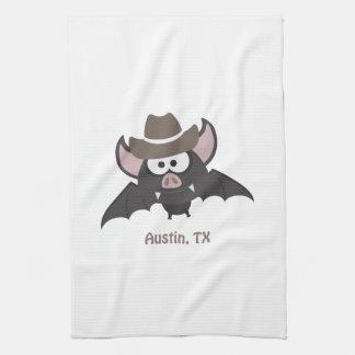 Austin, Texas - Cowboy bat Towels