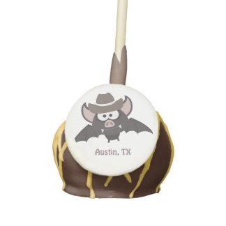 Austin, Texas - Cowboy bat Cake Pops