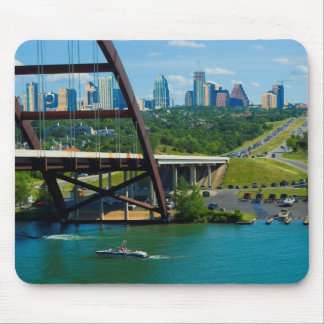 Austin, Texas from 360 Bridge Mouse Pad