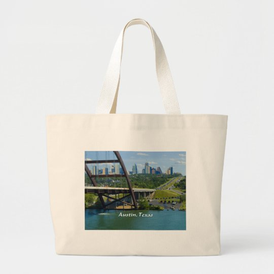 Austin, Texas Large Tote Bag