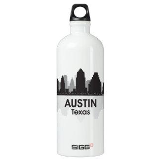 Austin Texas Skyline Aluminum Water Bottle