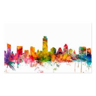 Austin Texas Skyline Business Card