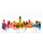 Austin Texas Skyline Double-Sided Standard Business Cards (Pack Of 100)