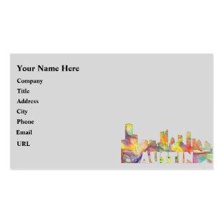 AUSTIN TEXAS SKYLINE MCLR2 BUSINESS CARD