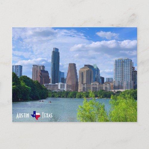 Austin Texas Skyline Postcard