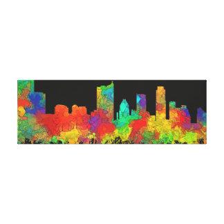 Austin Texas Skyline-SG Canvas Print