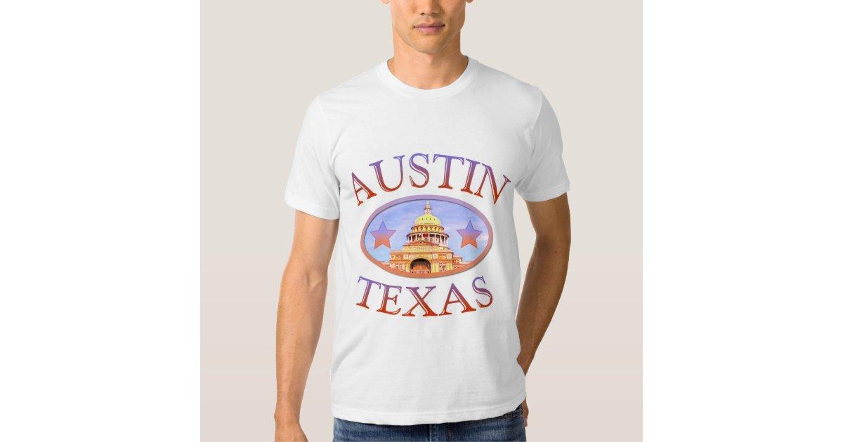 austin texas t shirt zazzle