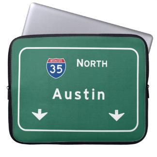 Austin Texas tx Interstate Highway Freeway Road : Laptop Sleeve