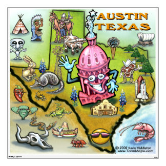 Austin TEXAS Wall Decal
