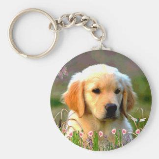 Austin The Golden Labrador Keychain