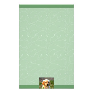 Austin The Golden Labrador Personalized Stationery