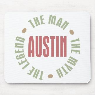 Austin the Man the Myth the Legend Mouse Pad
