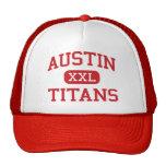 Austin - titanes - centro - Port Arthur Tejas Gorro