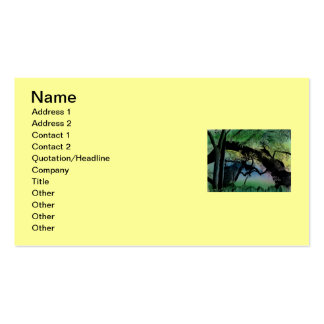Austin Tree Cat Business Card