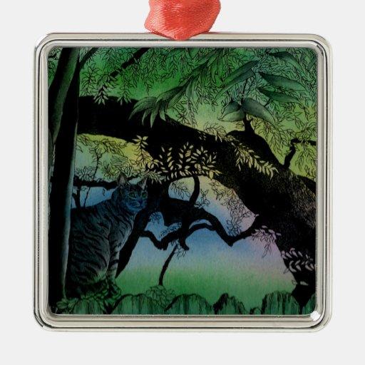 Austin Tree Cat Ornament