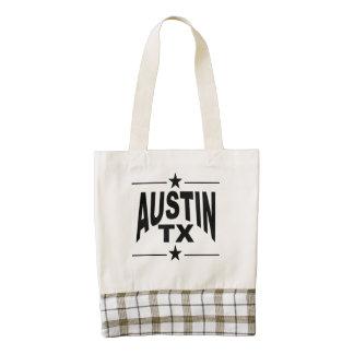 Austin TX Bolsa Tote Zazzle HEART